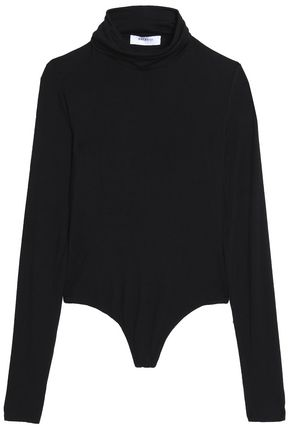 BAILEY 44 Mélange stretch-jersey turtleneck bodysuit