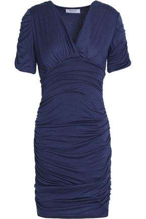 BAILEY 44 Impact Zone ruched stretch-jersey mini dress