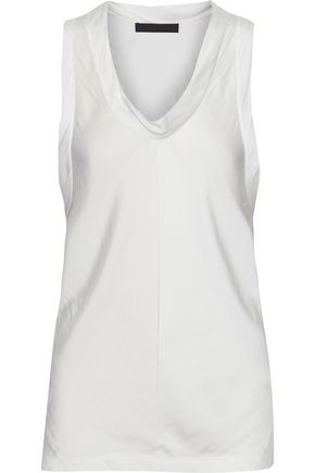 ALEXANDER WANG Draped satin top
