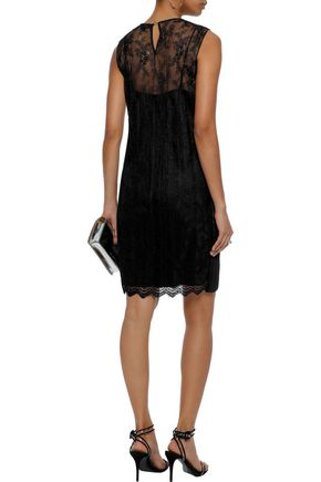 ALEXANDER WANG Embellished lace dress