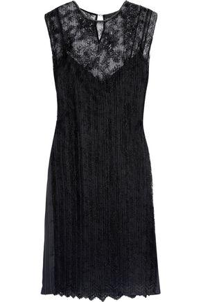 ALEXANDER WANG Embellished lace dress