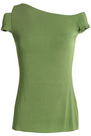 BAILEY 44 Cutout stretch-modal jersey top