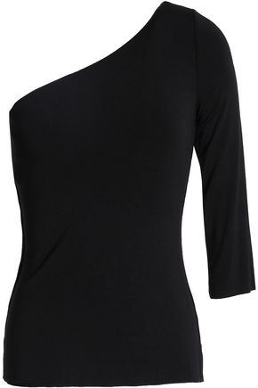 BAILEY 44 One-shoulder stretch-jersey top