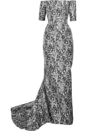 J.MENDEL Metallic jacquard gown