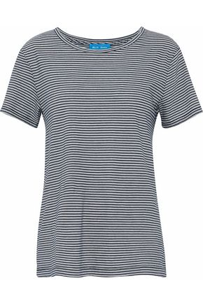 M.I.H JEANS Nora striped cotton-jersey T-shirt