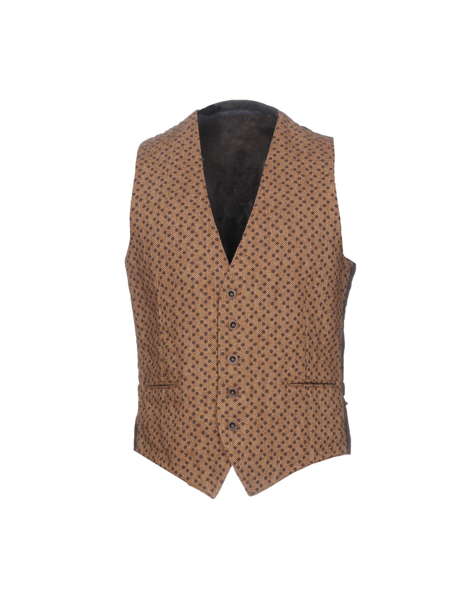 MONTEDORO Suit Vest in Sand