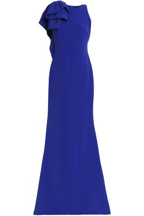 BADGLEY MISCHKA Crepe gown