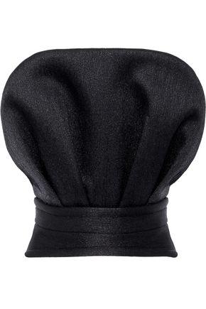 BRANDON MAXWELL Strapless crinkled neoprene top