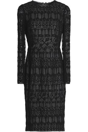 DOLCE & GABBANA Crocheted cotton dress