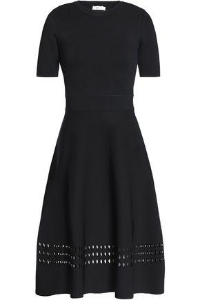 A.L.C. Laser-cut ponte dress