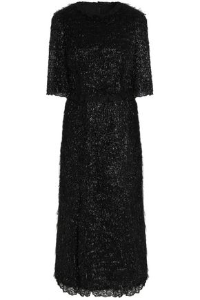 DOLCE & GABBANA Tencel flared midi dress