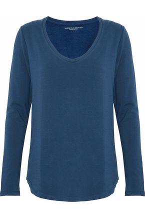 MAJESTIC FILATURES Fleece-jersey top