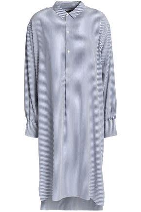 NILI LOTAN Striped silk dress