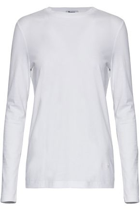 T by ALEXANDER WANG Cotton-jersey top