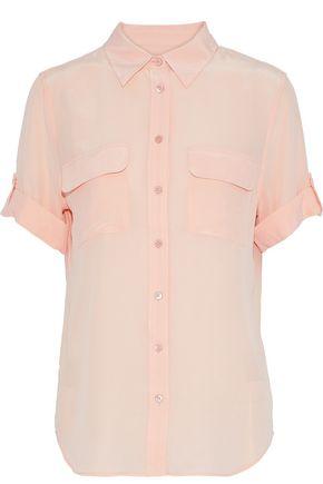 EQUIPMENT Washed-silk shirt