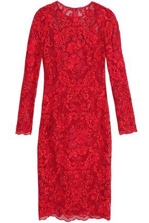 DOLCE & GABBANA Cotton-blend lace dress