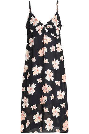 JOSEPH Floral-print twill dress