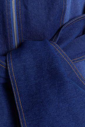 b470f6bbb226 ... PAPER London Soleil two-tone denim halterneck jumpsuit ...