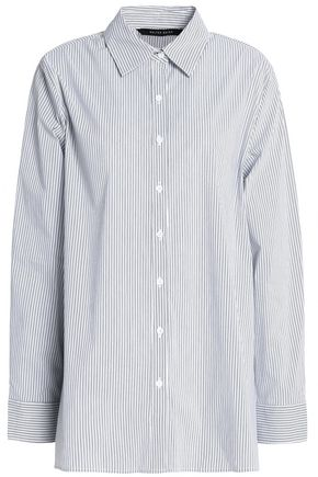 W118 by WALTER BAKER Myron striped cotton-blend shirt