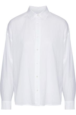 VINCE. Cotton-gauze shirt