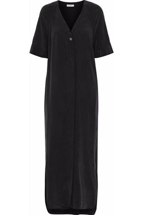 EQUIPMENT Atley washed-silk maxi dress