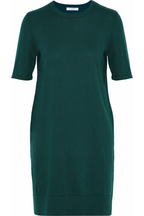 EQUIPMENT Cotton and cashmere-blend mini dress