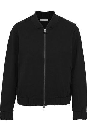 VINCE. Jersey bomber jacket