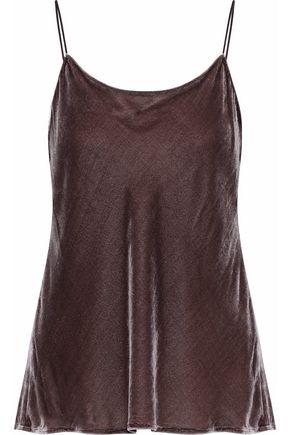 VINCE. Velvet camisole