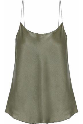 VINCE. Silk-satin camisole