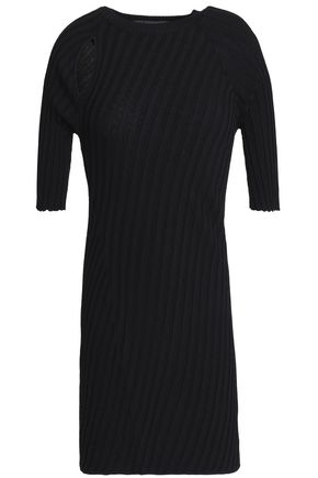 ELLERY Taurus cutout ribbed-knit top