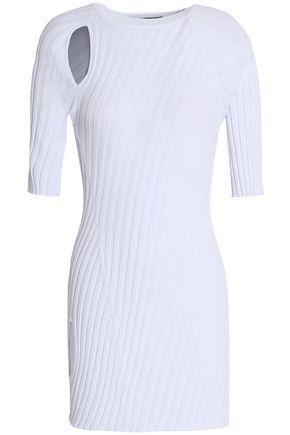 ELLERY Taurus cutout ribbed-knit top