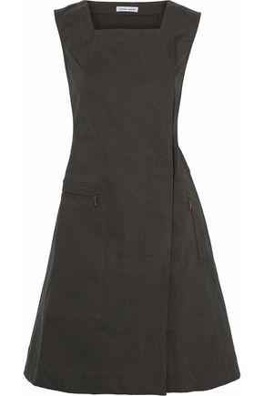 TOMAS MAIER Cotton-blend twill dress