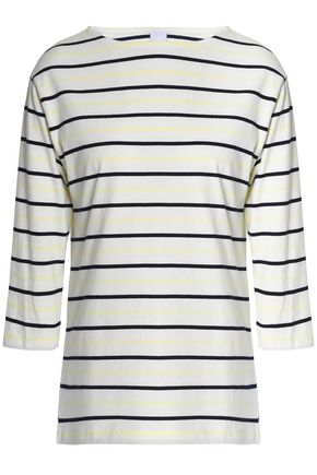 IRIS & INK Sydney striped cotton-jersey top