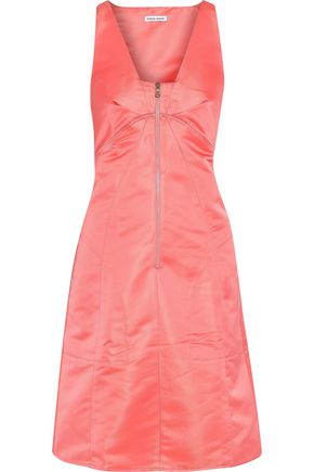 TOMAS MAIER Crinkled duchesse-satin dress