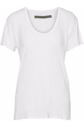 ENZA COSTA Slub jersey T-shirt