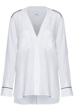 Sonny Washed Silk Shirt by Equipment