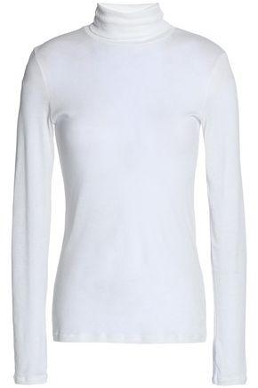 PETIT BATEAU Cotton-jersey turtleneck top