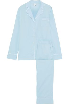 IRIS & INK Jocelyn cotton-gauze pajama set