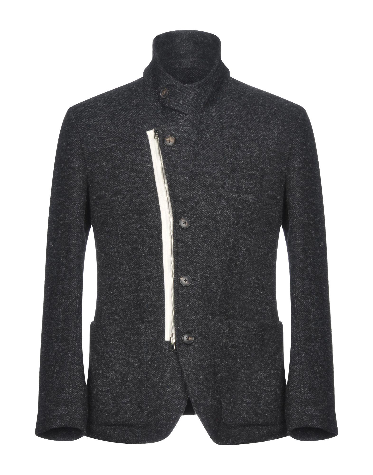 UMIT BENAN Blazer in Steel Grey