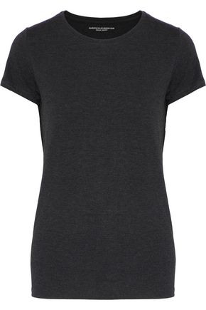 MAJESTIC FILATURES Mélange stretch-jersey T-shirt