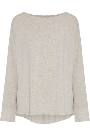 MAJESTIC FILATURES Marled jersey top