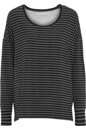 MAJESTIC FILATURES Striped fleece top