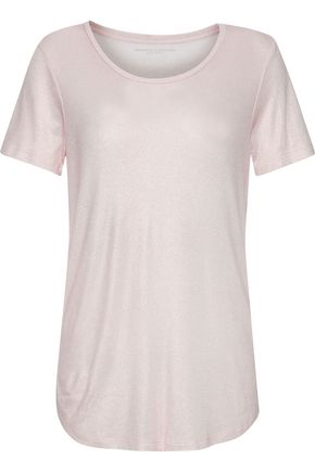 MAJESTIC FILATURES Metallic stretch-jersey T-shirt