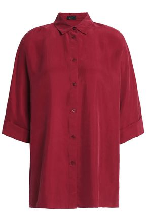 JOSEPH Washed-silk shirt