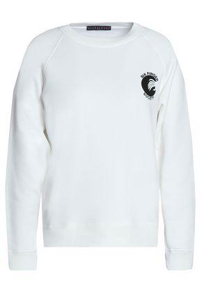 ALEXA CHUNG Printed cotton sweatshirt
