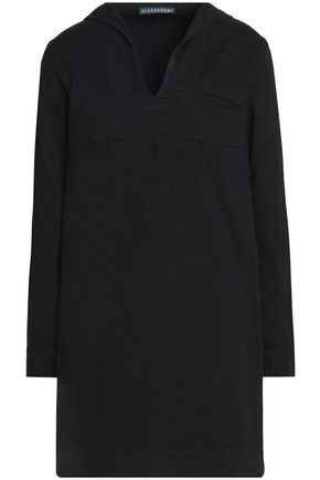 ALEXACHUNG Stretch cotton-twill mini dress