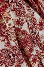 L'AGENCE Cameron printed silk crepe de chine maxi dress
