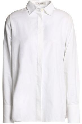 VALENTINO Cotton-piqué shirt