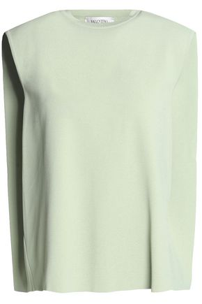 VALENTINO Cape-back ponte top