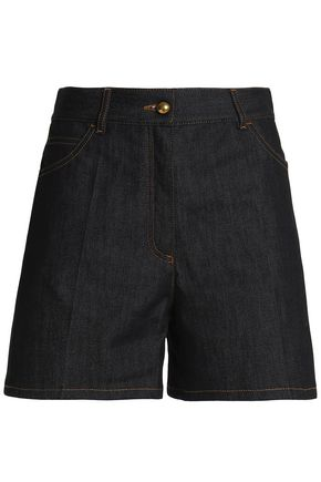 VALENTINO High-rise denim shorts